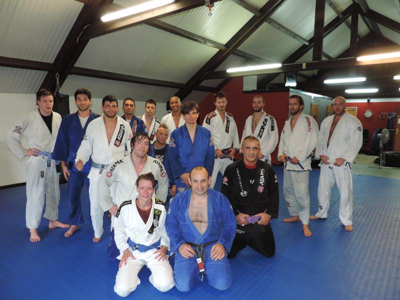Fight Team Impact Carlson Gracie Ari Galo Luxembourg