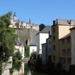Quartier du Grund à Luxembourg