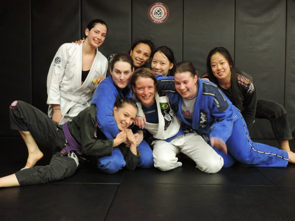 Brazilian jiu-jitsu team Maromba Academia Australia Melbourne women