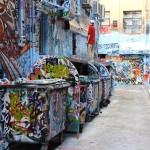 Street art Melbourne Australia
