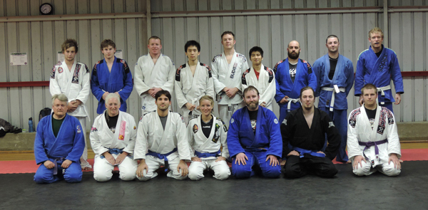 Brazilian jiujitsu Maromba South team Hobart Tasmania