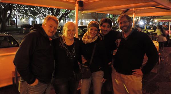 Peter, Deb, me, Florian, Gerry