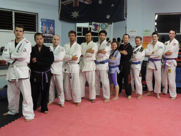 Brazilian jiu-jitsu team, Lange's MMA, Manly, north Sydney