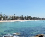 Manly seafront