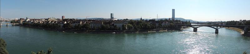 Rhin river Basel