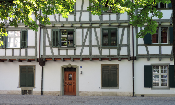 Old house on the cathedrale place