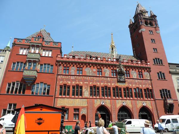 City hall Basel