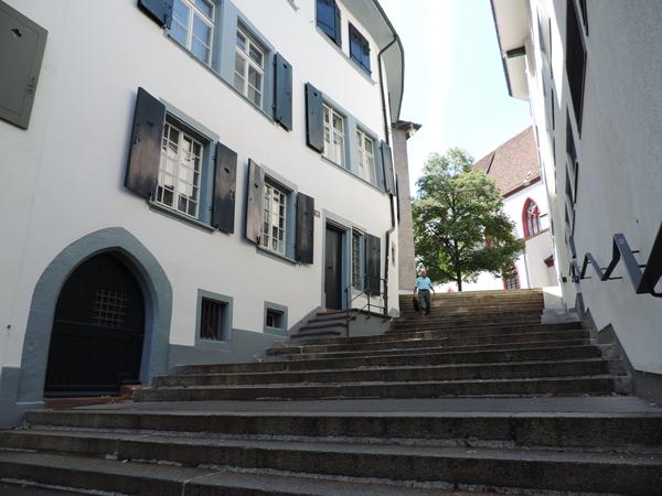 Street in the university quarter