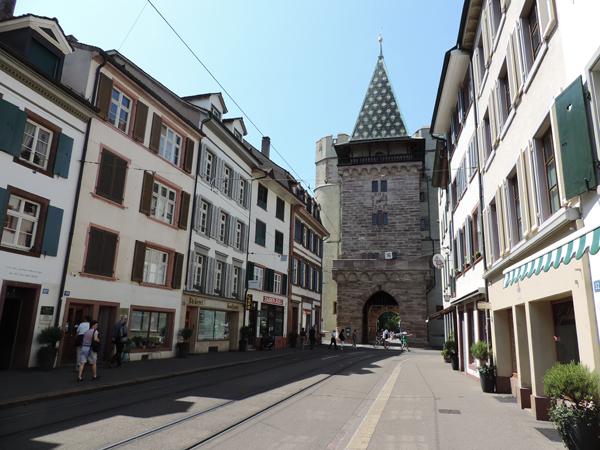 Street, historical centrer Basel