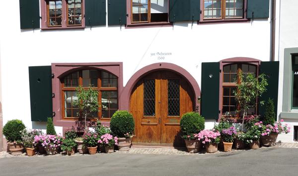 Charming building Grossbasel