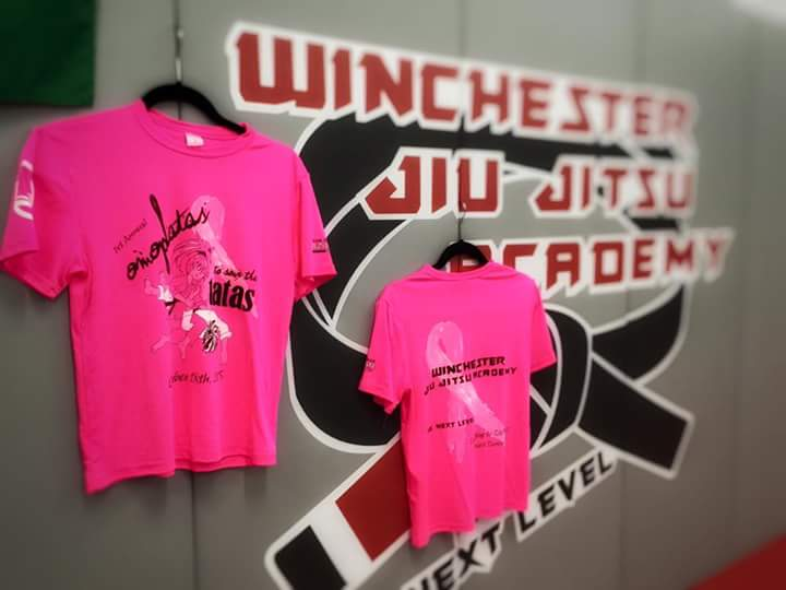 Winchester jiu-jitsu USA pink october