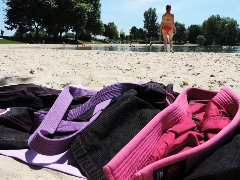 Brazilian jiu jitsu lifestyle summertime