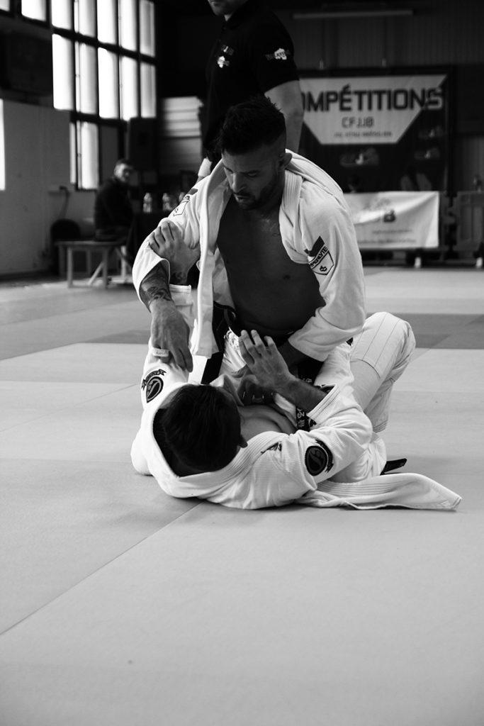Mathias Jardin BJJ fighter and trainer at GF Team France