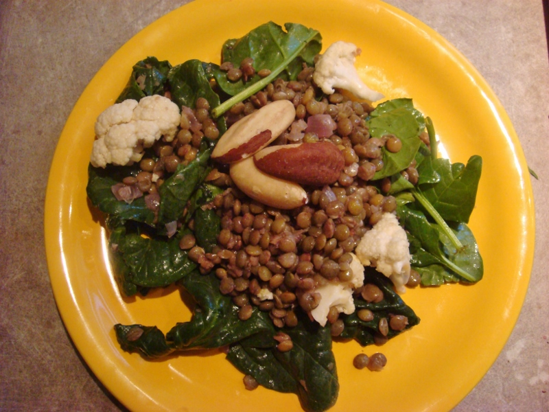 green lentils salade an anti premenstrual recipe from girls who do brazilian jiu-jitsu