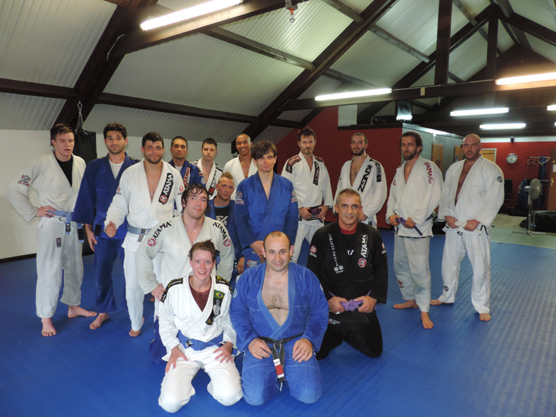 Fight Team Impact Carlson Gracie Ari Galo Luxembourg