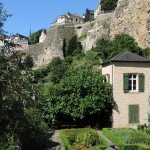 Rive de l'Alzette, quartier du Grund Luxembourg