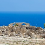Ruins of a basilica on Cyprus ( Kourion)