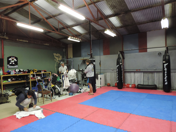 BJJ Taz Maromba St Helens, The Big Shed