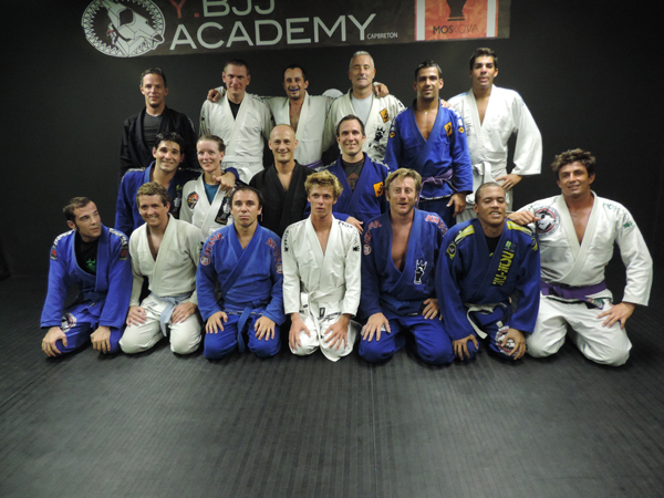 Yannick Beven Brazilian jiu-jitsu Team Cap Breton France