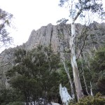 Organ Pipes Mont Wellington Hobart Tasmania