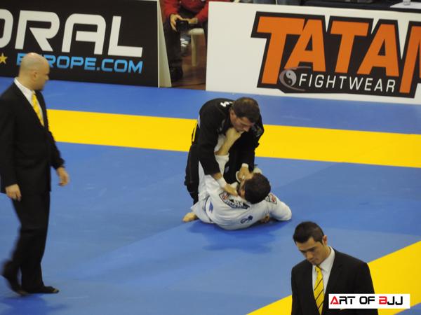 IBJJ European Open one legged fighter