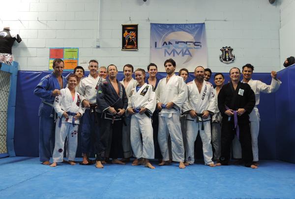 Lange's MMA, Académie de jiu-jitsu brésilien et Mixed Martial Art à Manly, au nord de Sydney, Australie