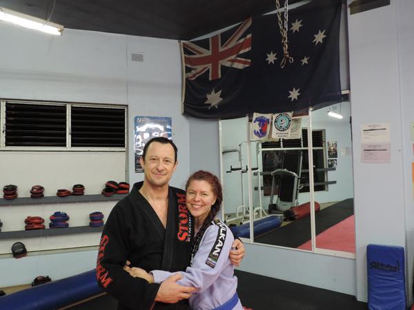 Nikki et Anthony Lange, Lange's acédémie, jiu-jitsu brésilien à Manly, Sydney, Australie