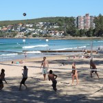Beach volley sur la plage de Manly