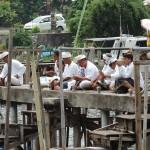 Cérémonie au Lac Beratan Bali
