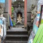 Temple et marché de Ubud Bali