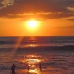 Couché de soleil à Canggu Bali