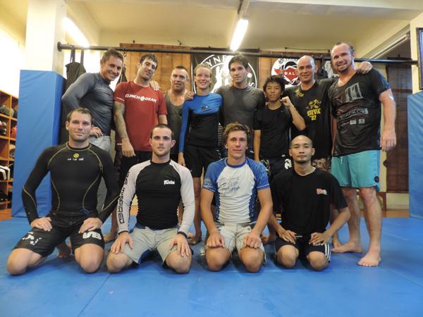 Synergy MMA, académie de jiu-jitsu brésilien à Bali sous Niko Han
