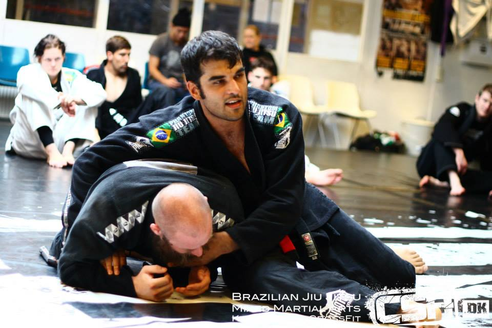 Daniel Marquez instructeur au camp BJJ Globetrotters