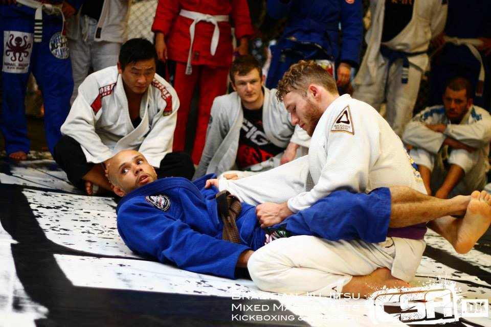 Luiz Paulo Lyra instructeur au camp BJJ Globetrotters