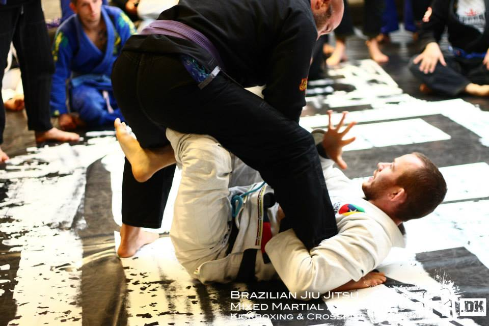 Oliver Geddes instructeur au camp BJJ Globetrotters