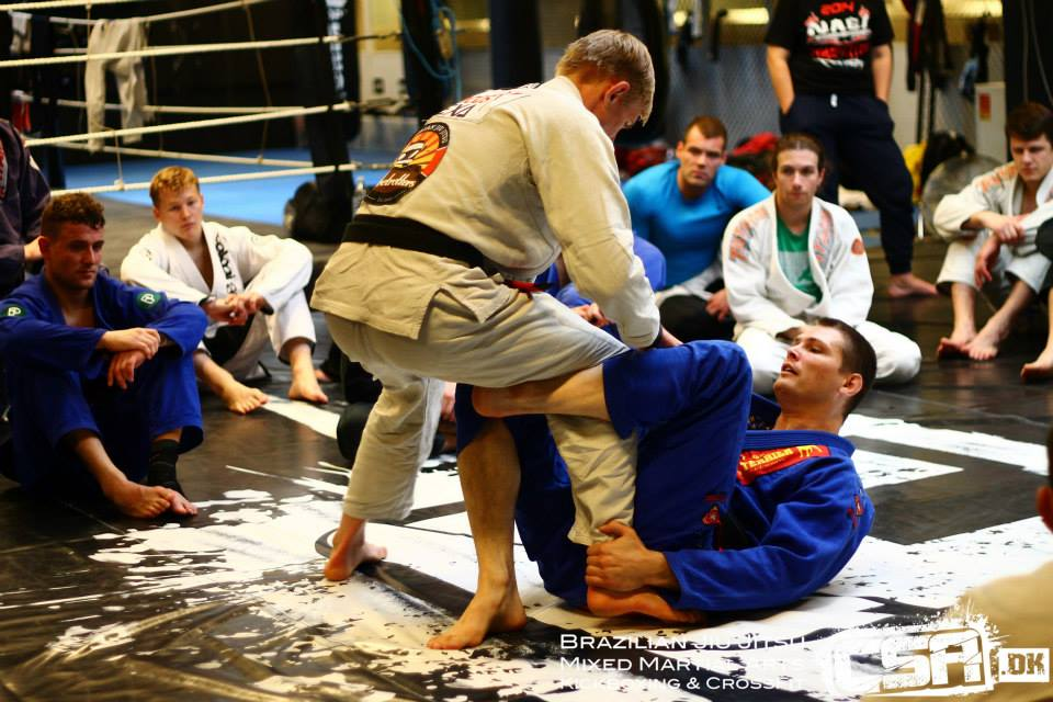 Daniel Morcegao George instructeur au camp BJJ Globetrotters