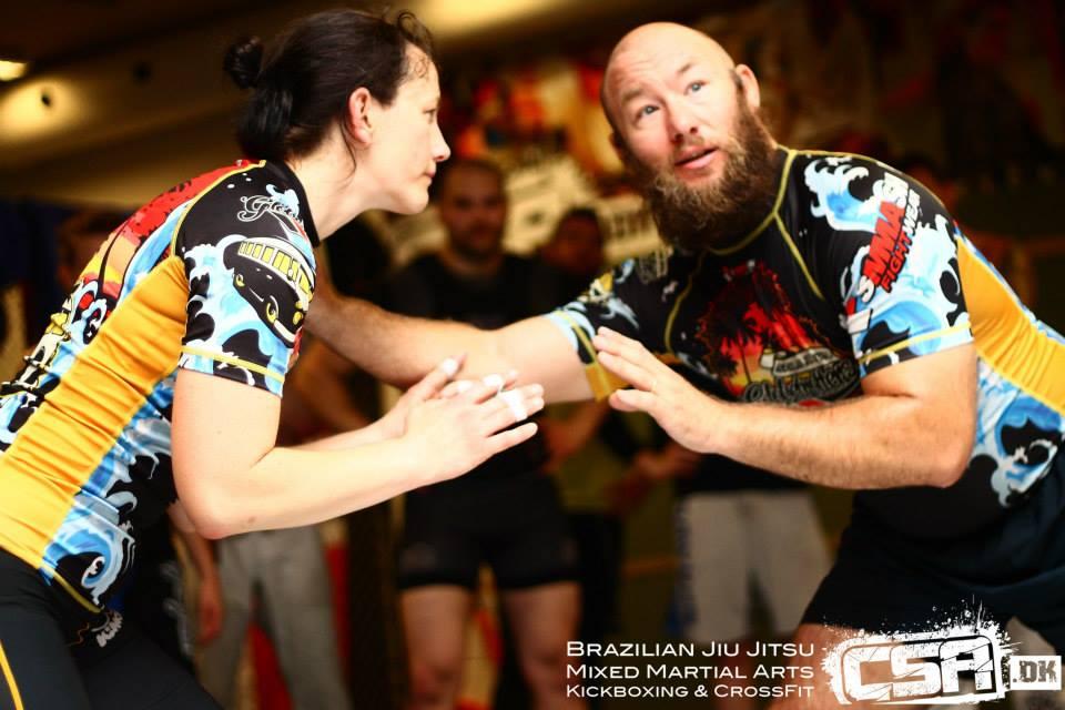 Eryk Bydairk instructeur de lutte au camp BJJ Globetrotters
