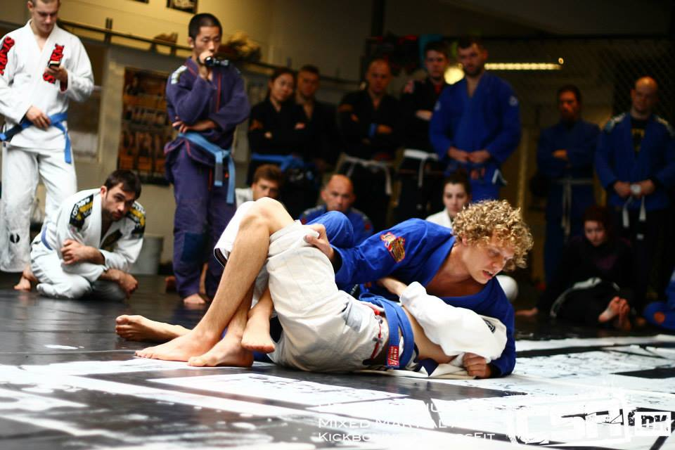 Christian Graugart instructeur au camp BJJ Globetrotters