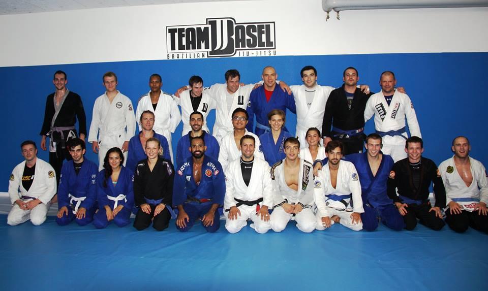 "Diogo ""Moreno"" Araujo seminar BJJ Team Basel"