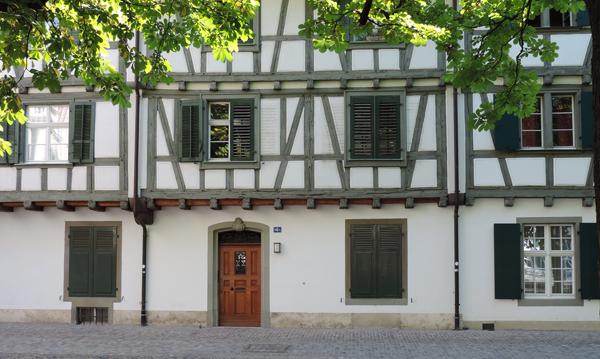 Maison à colombages place de la cathédrale, Bâle
