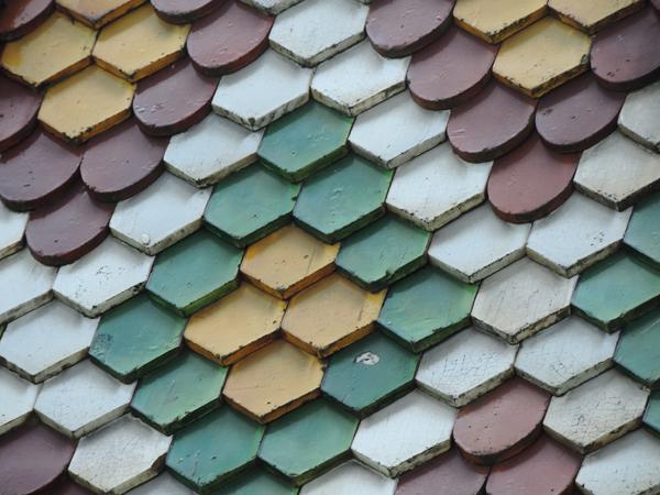 Toit multicolor Bâle