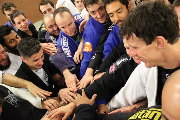 Art of bjj ari galo jiu-jitsu brésilien famille