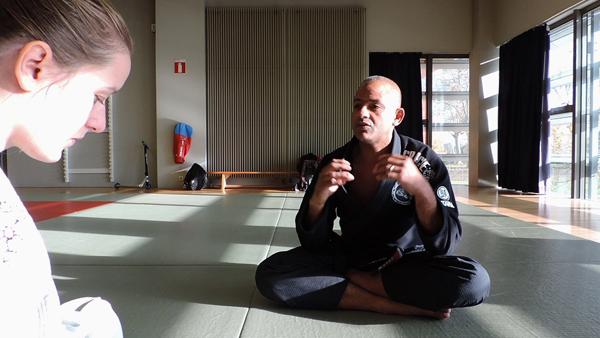 Art of BJJ rencontre Ari Galo, ceinture noire de jiu-jitsu brésilien