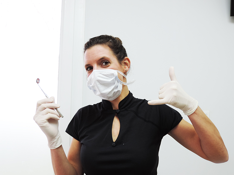 Dentiste et pratiquante de jiu jitsu brésilien